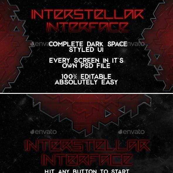 Dark Space Interface