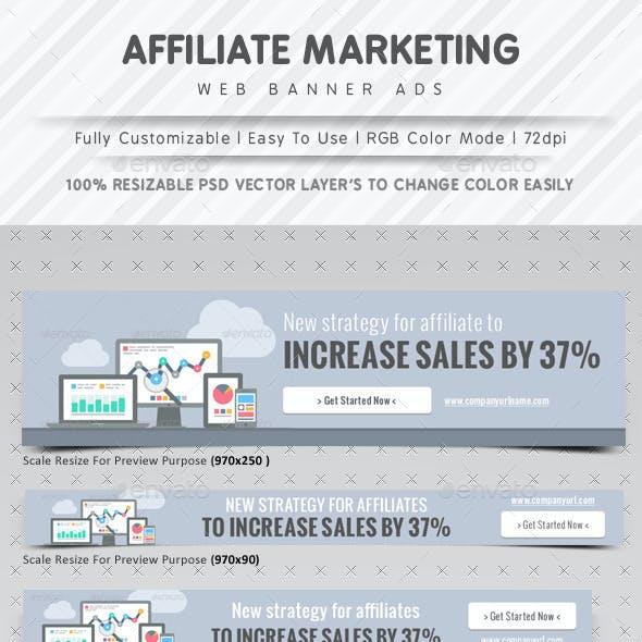 Affiliate Marketing Web Banner Ads
