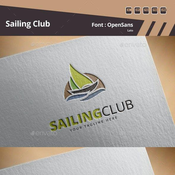 Sailing Club Logo Template