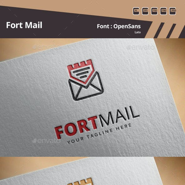 Fort Mail Logo Template