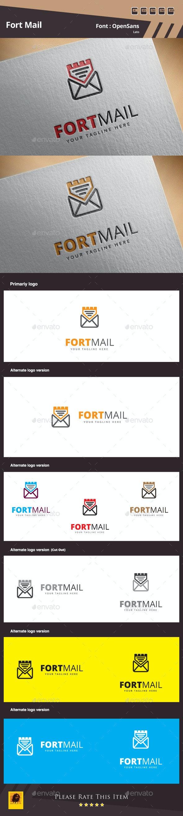 Fort Mail Logo Template - Symbols Logo Templates