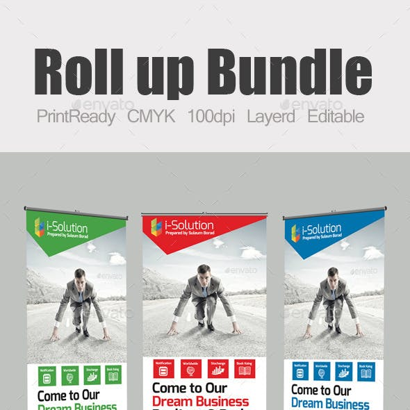Roll Up Business Banners Bundle