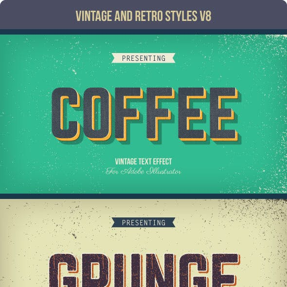 Vintage and Retro Styles V8