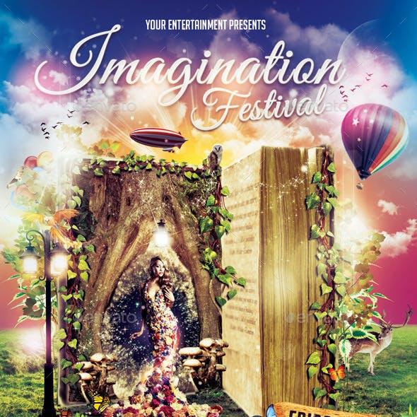Imagination Festival Flyer