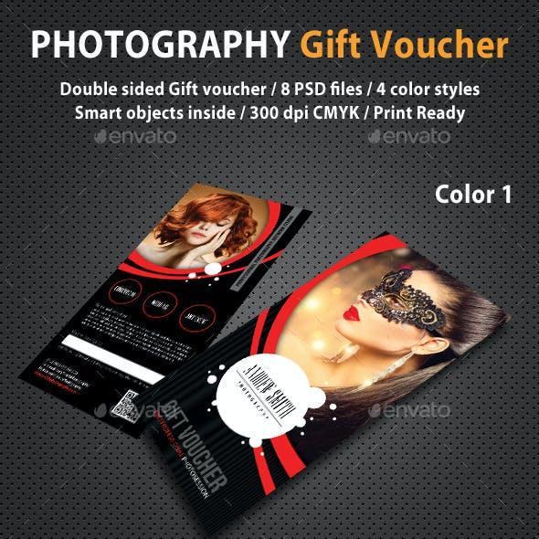 Photography Studio Gift Voucher 04