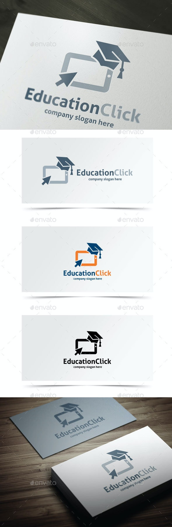 Education Click - College Logo Templates