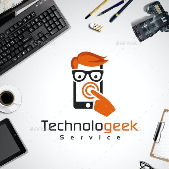 Technologeek Logo Template