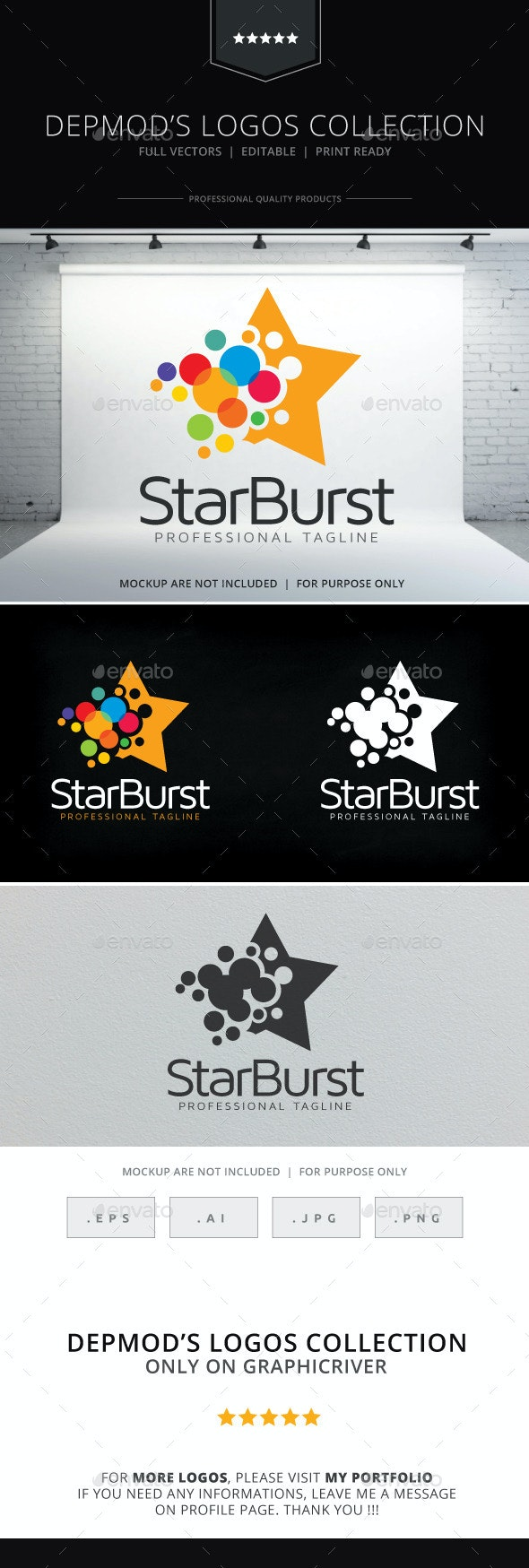 Star Burst Logo - Symbols Logo Templates