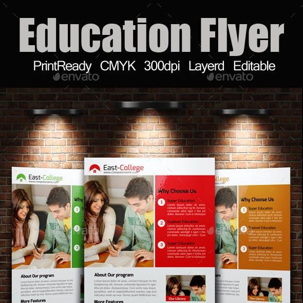 A4 education Flyer