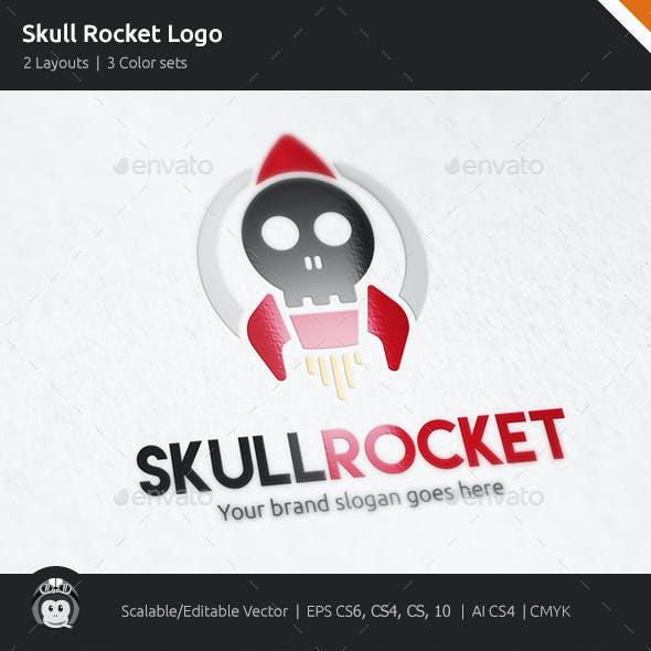 Skull Rocket Logo