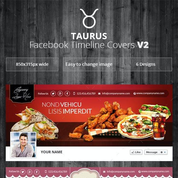 Taurus - Facebook Timeline Covers V2