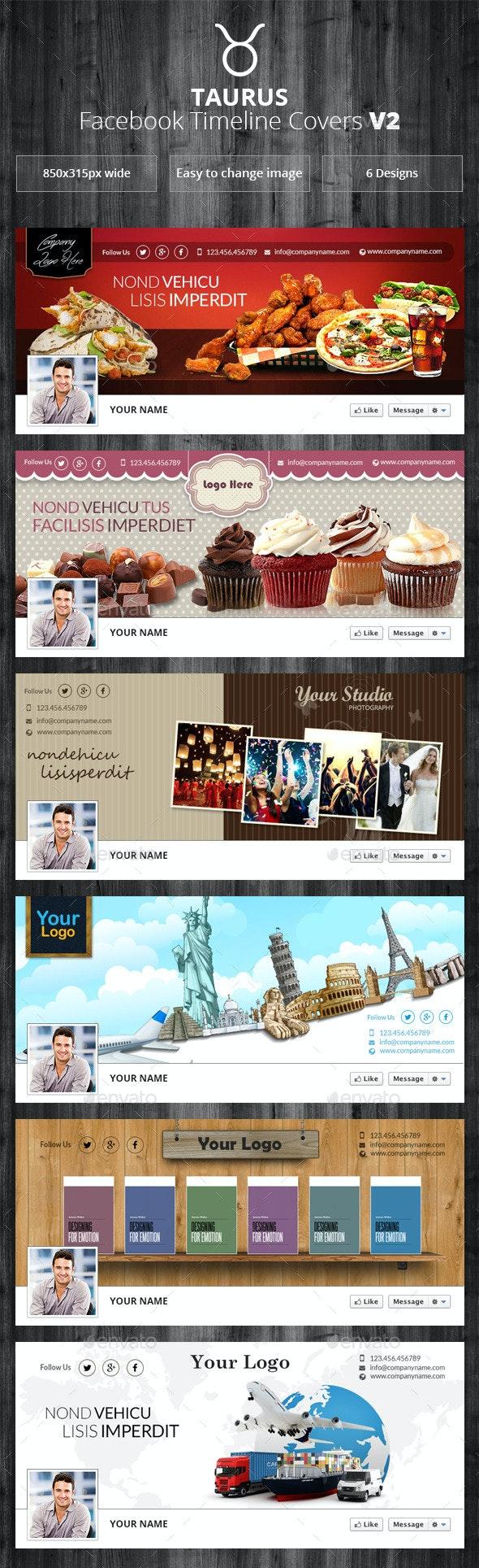 Taurus - Facebook Timeline Covers V2 - Facebook Timeline Covers Social Media