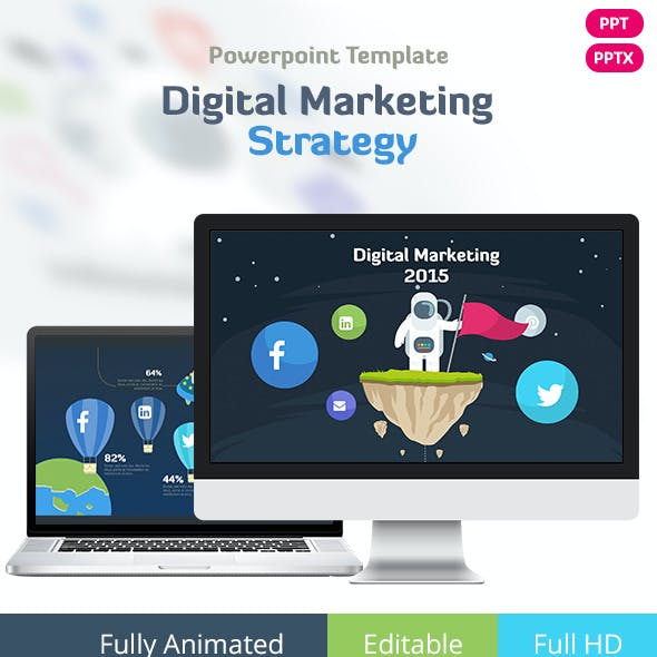 Digital Marketing - Powerpoint Template