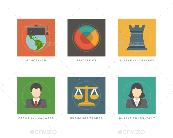 Business Icons - Web Technology