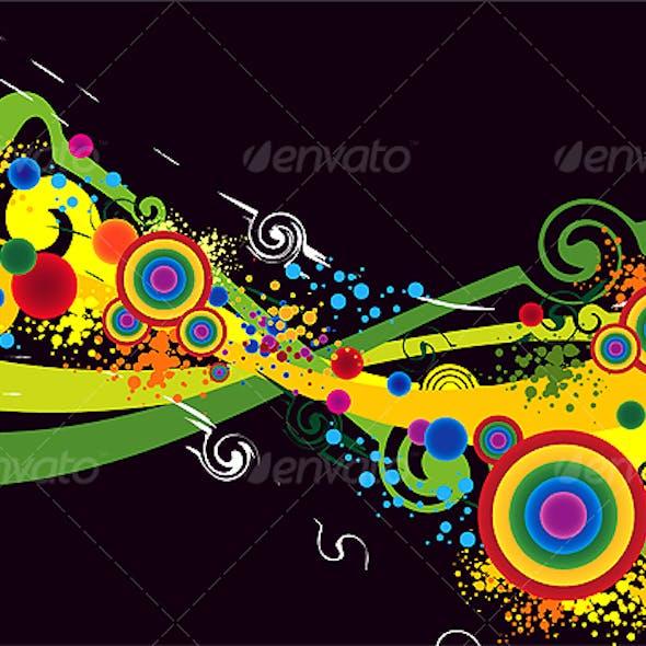 Color Explosion Background art work
