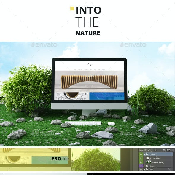 Into The Nature - Creative Mockups