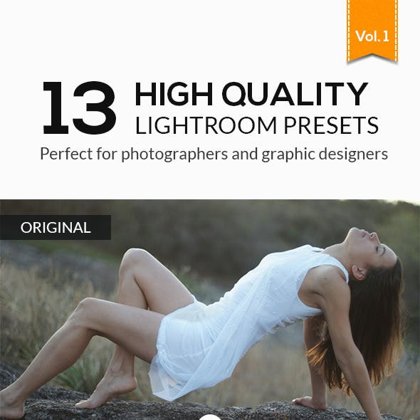 13 High Quality Lightroom Presets