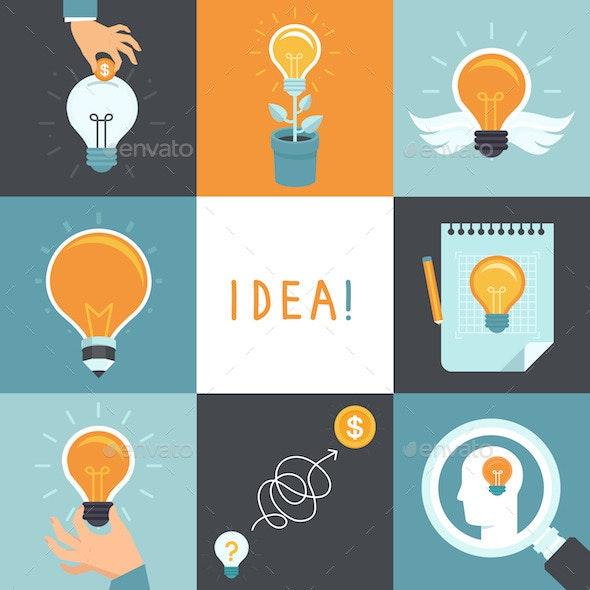 Idea Concepts  - Conceptual Vectors
