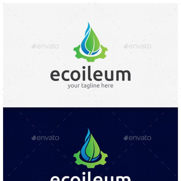 Ecoileum Logo Template