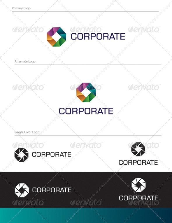 Corporate Logo Design - ABS-012 - Abstract Logo Templates