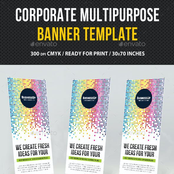 Multipurpose Banner Template V06