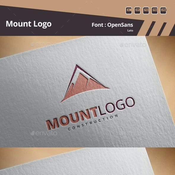Mount Logo Template