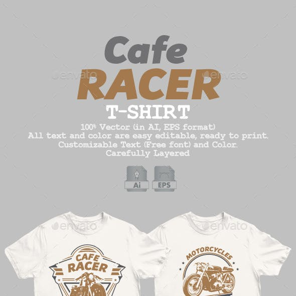 Cafe Racer T-Shirt