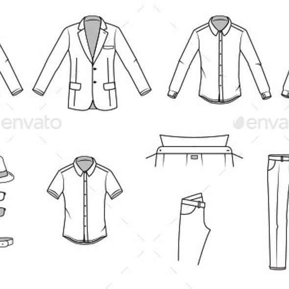 Men's Clothes and Garments