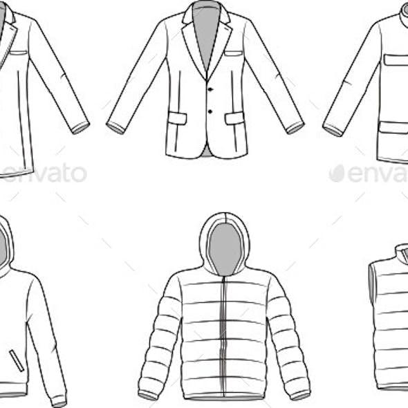 Men's Outerwear Clothes