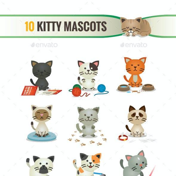 10 Kitty Mascots