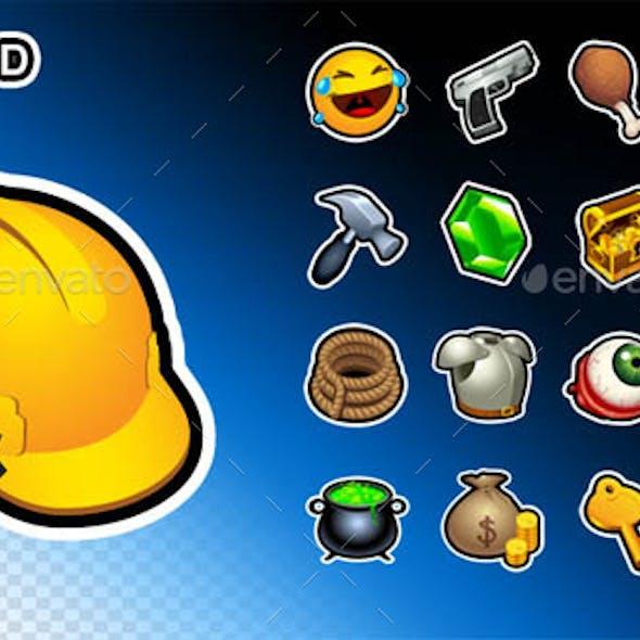 Outlined V1 - 540 Icons Pack