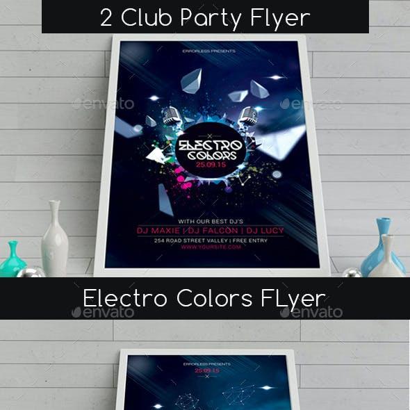 2 Club Party Flyer