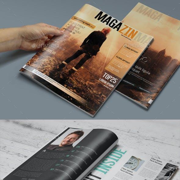 Photoshop Magazine Template
