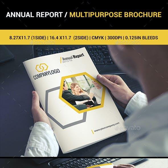Annual Report / Multipurpose Brochure