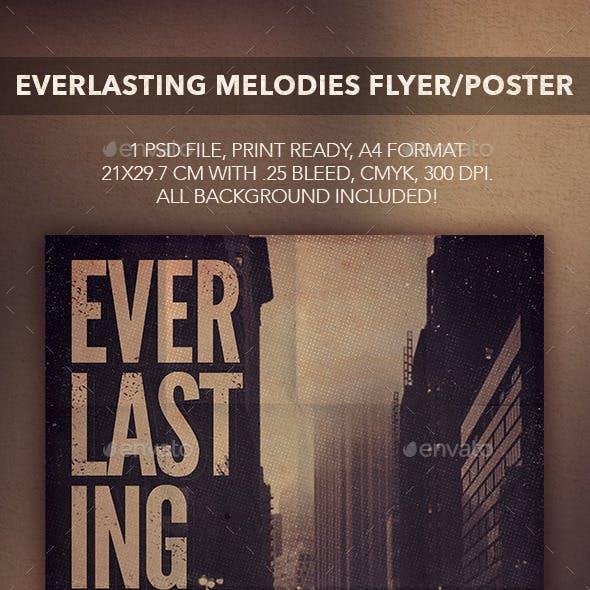 Everlasting Songs Flyer Poster