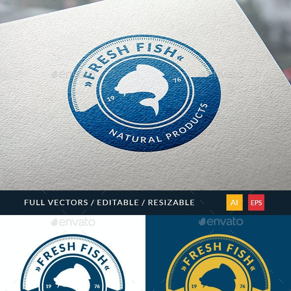 Fresh Fish Logo