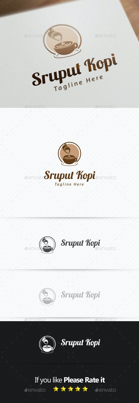 Coffee Logo Template - Objects Logo Templates