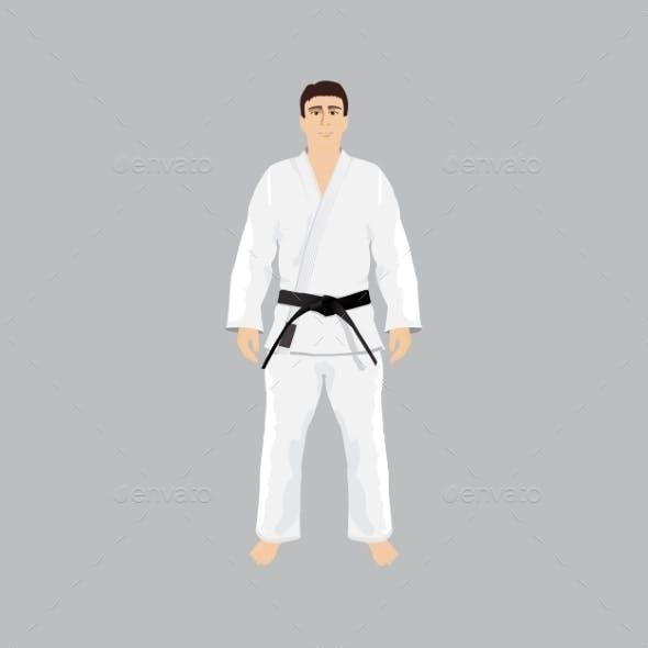Men in Judo Sportwear