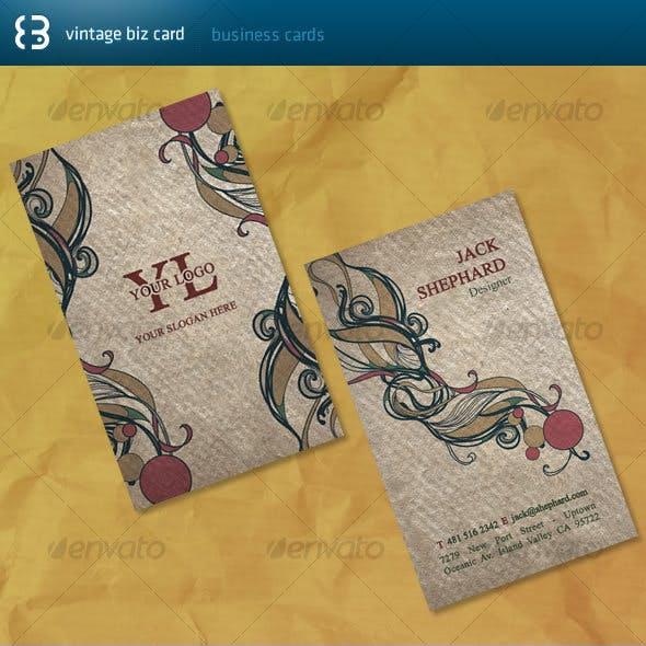 Vintade Biz Card