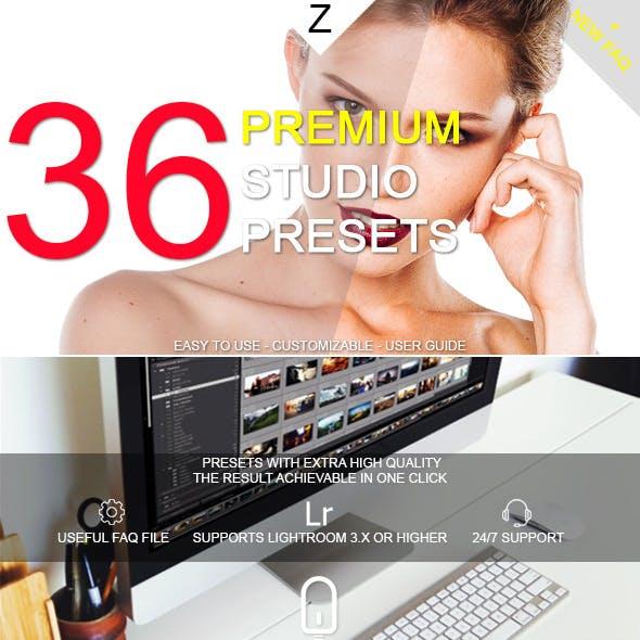 36 Premium Studio Presets