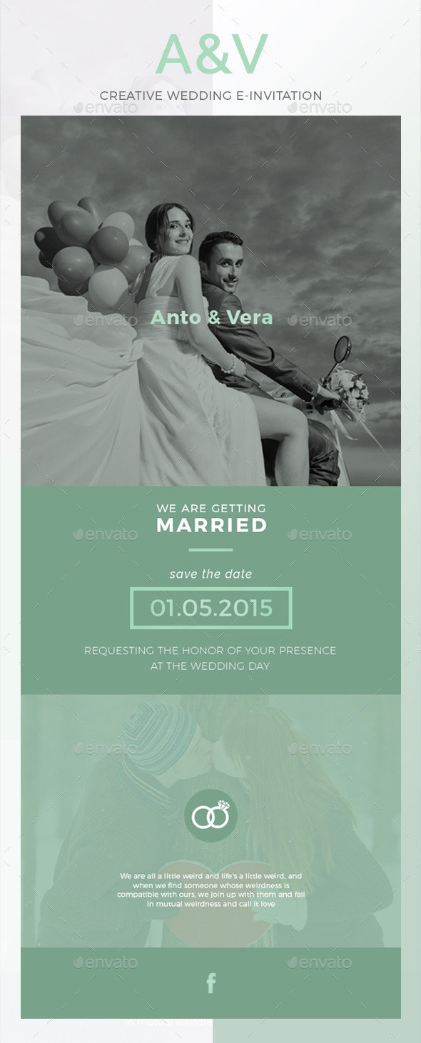 AV Wedding E-Invitation