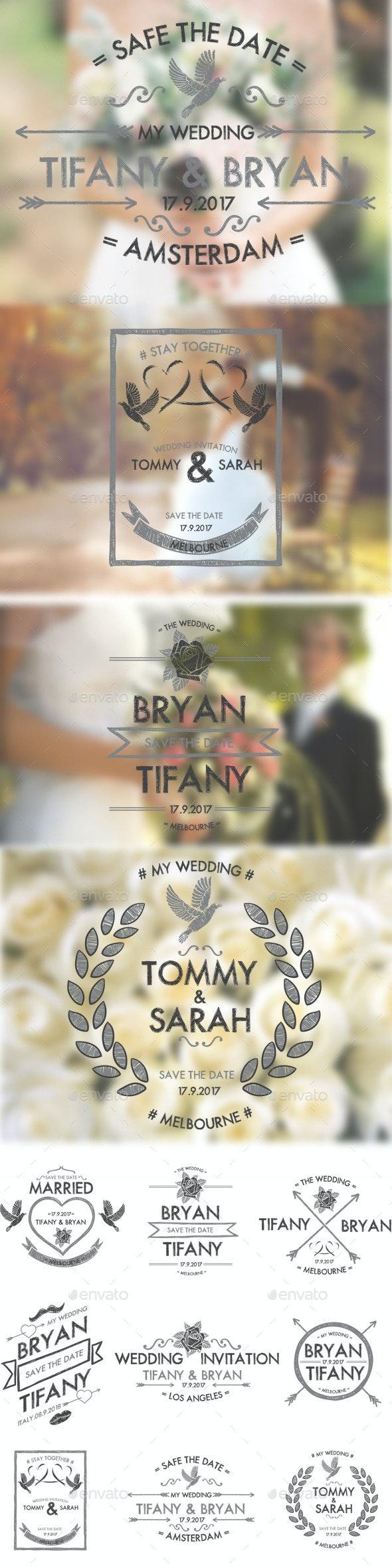 Wedding Badges - Weddings Seasons/Holidays