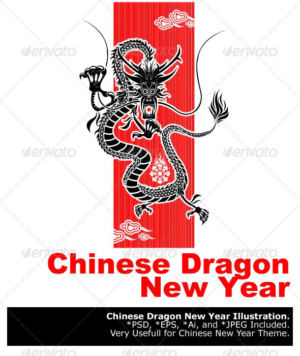 Chinese Dragon New Year - New Year Seasons/Holidays