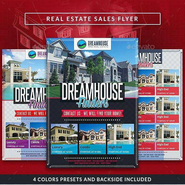 Real Estate Sales Commerce Flyer