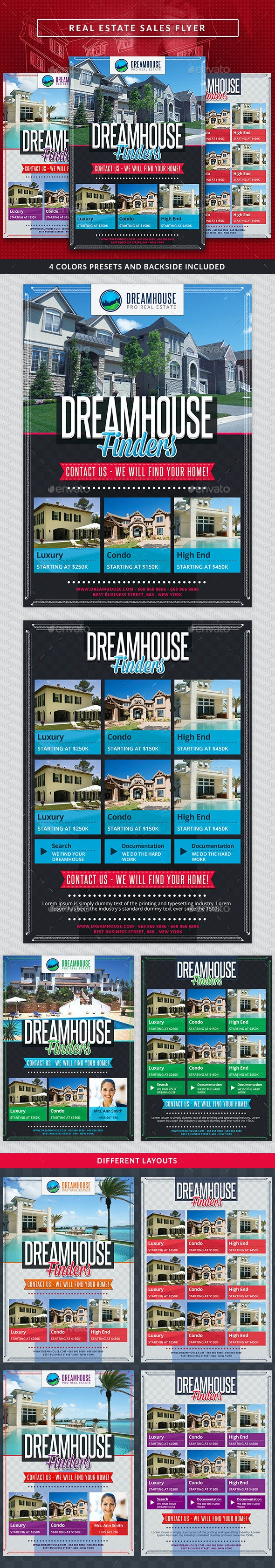 Real Estate Sales Commerce Flyer - Corporate Flyers