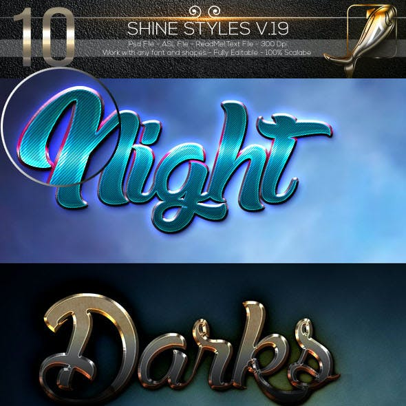 10 Shine Styles V.19