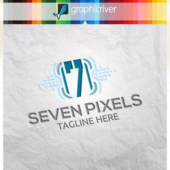 Number Pixels 7