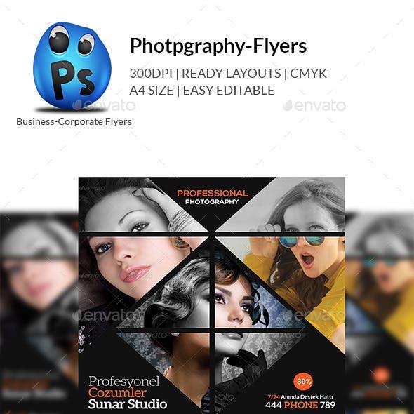 Photography Studio Flyer Templates