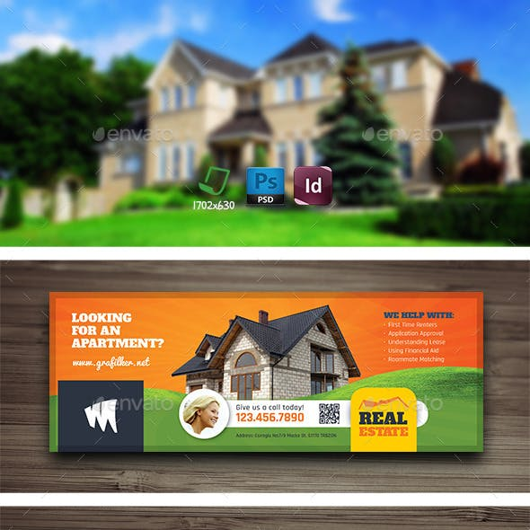 Real Estate Cover Templates