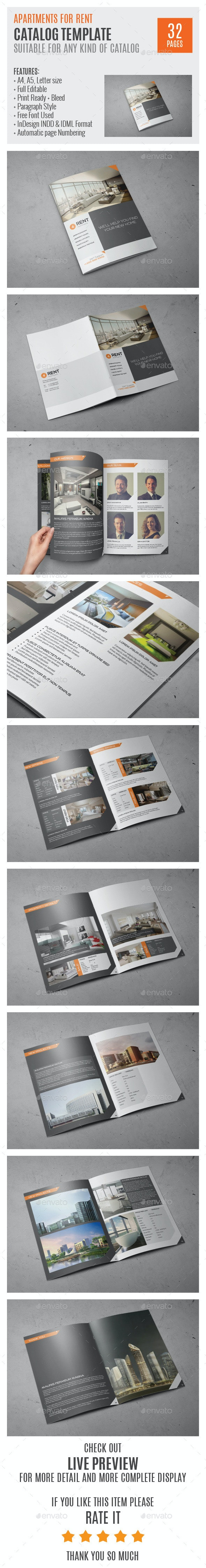 Real Estate Agency A4 InDesign Catalog 0045 - Catalogs Brochures